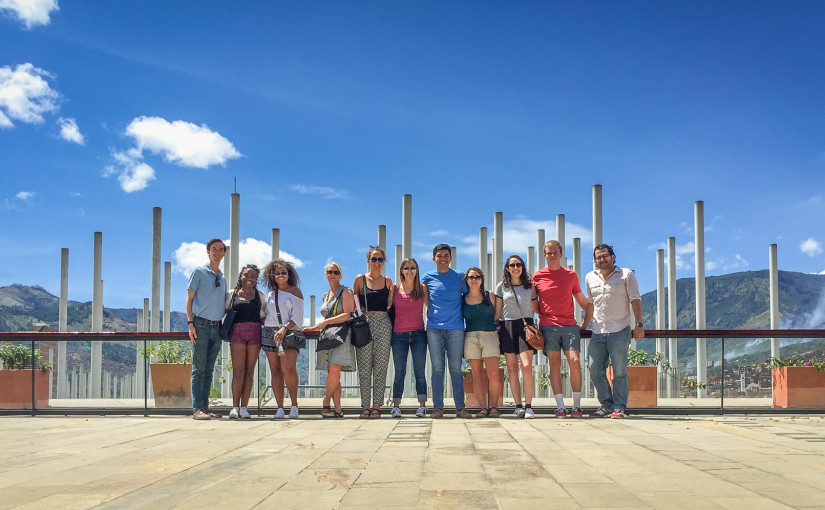 DukeEngage Colombia students learn about Medellín history and culture