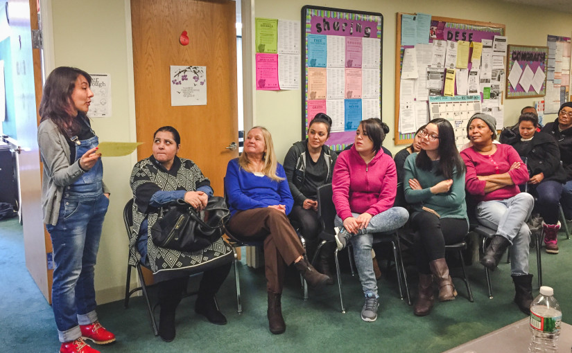 Proyecto Carrito presents at YMCA of Greater Boston