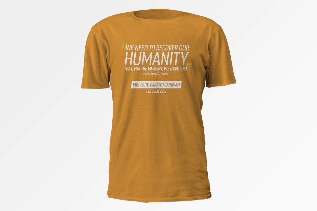 La camisa de edición limitada de la Caravana.