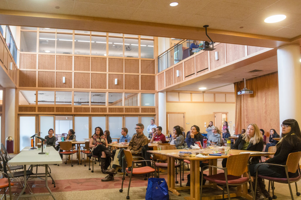 A panel discussion at the University of Denver, which focused on supporting immigrant students.