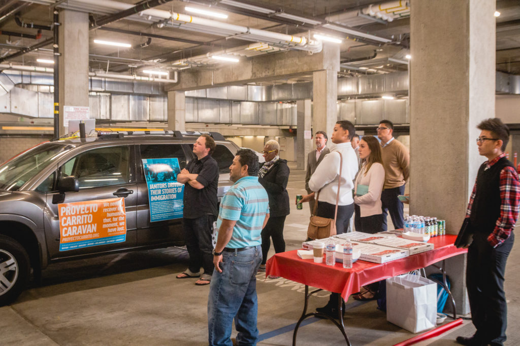Presenting the Proyecto Carrito Caravan at Emerson Los Angeles.
