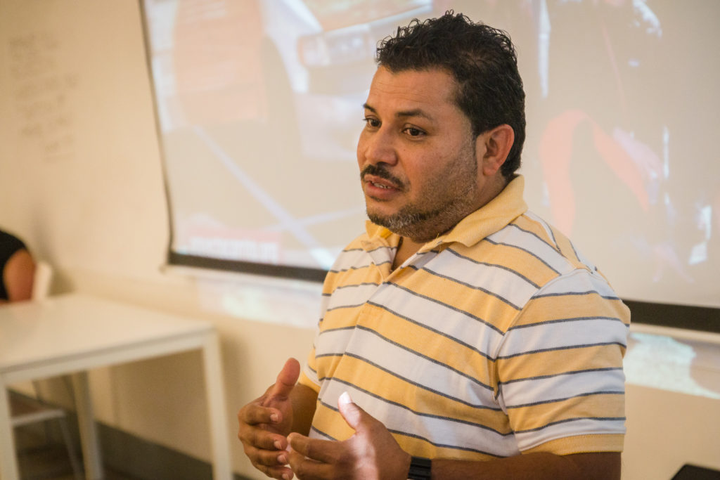 At Woodbury University, Mario discussed his vision for a more inclusive education system.